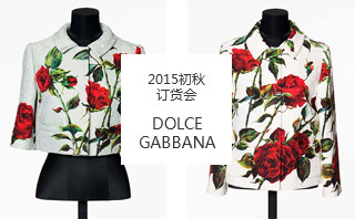 Dolce & Gabbana - 2015初秋 订货会