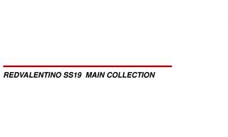 Red Valentino - 2019春夏订货会