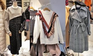 系帶|拼接|撞色:韓國東大門初秋零售分析