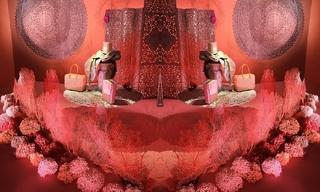 Hermès畅游奇境 - 蕾拉·芒夏丽(Leïla Menchari) 的梦幻世界展览