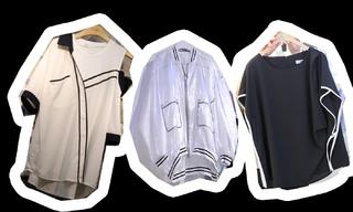 棒球衫 黑白裝飾 假兩件設計:韓國東大門初春零售分析