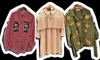 工裝夾克 甜美風 圖案襯衫:韓國東大門初春零售分析