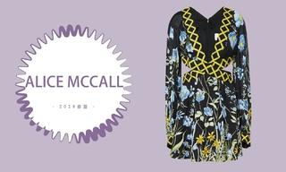 "Alice Mccall - 优雅过后的""坚韧""(2019春夏 预售款)"