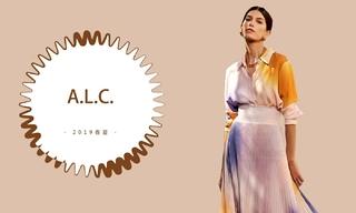 A.L.C. - 愉快的简单氛围(2019春夏)