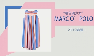 Marc O'Polo-暖色调少女(2019春夏)