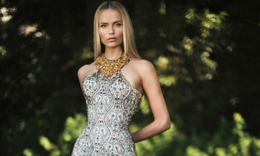 2018秋冬高級定制[Atelier Versace]巴黎時裝發布會