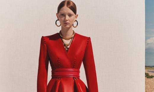 2020春游[Alexander McQueen]伦敦时装发布会