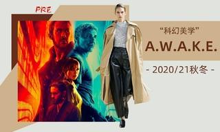 A.w.a.k.e. - 科幻美學(2020/21秋冬 預售款)